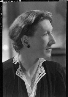 NPG x3057; Elizabeth Bowen by Howard Coster