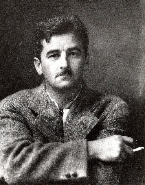 an introduction to the literary analysis of william faulkners narration William faulkners epic novel introduction william faulkner was a multi-faceted prolific literary analysis a rose for emily is one of the most critically.