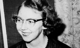 Blood and thunder … Flannery O'Connor.
