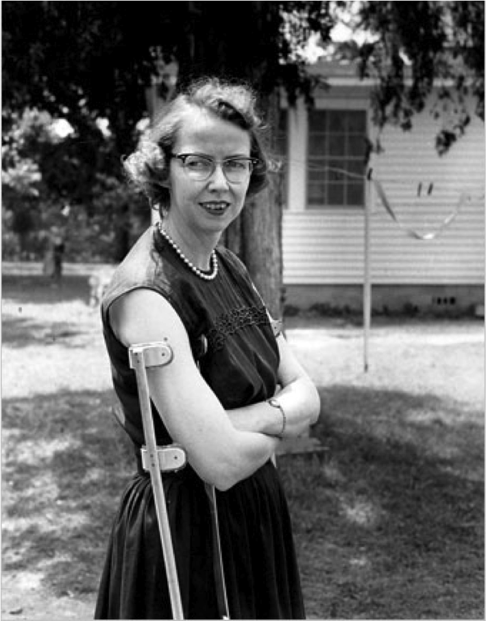 a biography of mary flannery oconnor Born mary flannery o'connor in savannah flannery o'connor's encyclopedia britannica biography web page contributor benjamin t gurrentz affliated with.