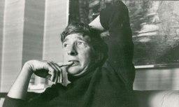 John Updike in April 1972